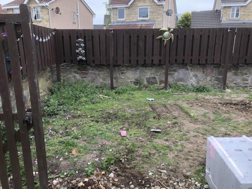 Newmachar Garden - Before 1